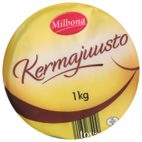 Milbona kermajuusto сыр круглый Мильбона Кермаюсто Сливочный
