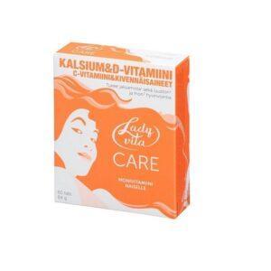 Ladyvita Care Витамины для женщин. ЛэдиВита 60 таблеток.