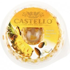 Мягкий сыр Castello Ананас и Миндаль
