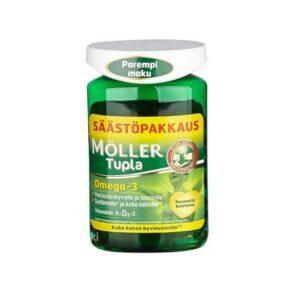 Витамины Omega-3 MÖLLER Tupla (Мёллер Тупла) 150 капсул