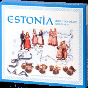 Шоколадные конфеты  Pegale Estonia 126g ЭСТОНИЯ