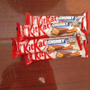 Кит Кат Kit Kat с соленой карамелью 46г