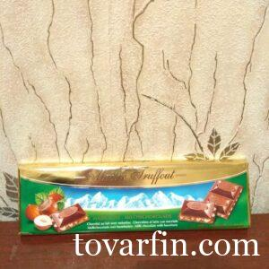 Шоколад с дробленым фундуком Maitre Truffout 300g