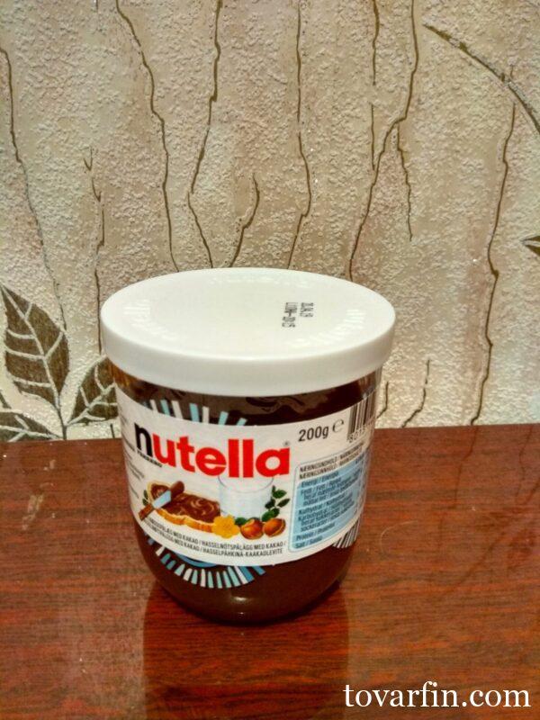Шоколадная паста Nutella 200g