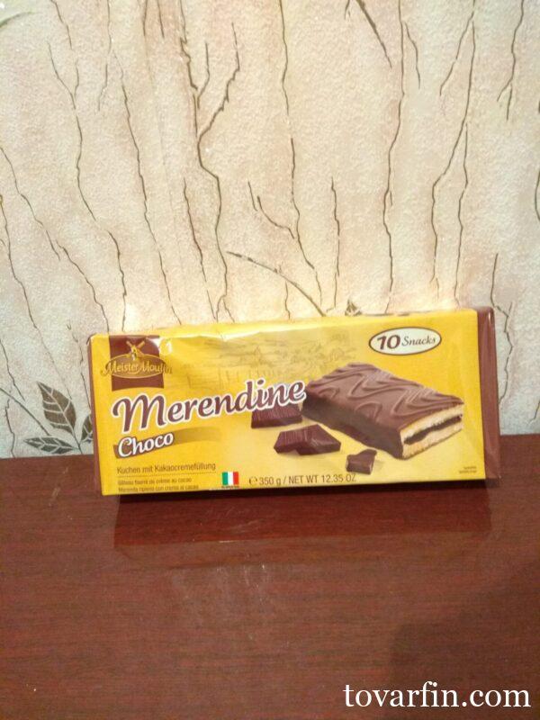 Бисквитные пирожные Choko в шоколаде 10 шт