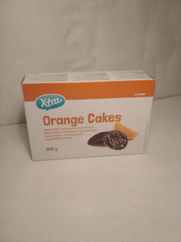 Печенье с мармеладом Апельсин XTRA 300г