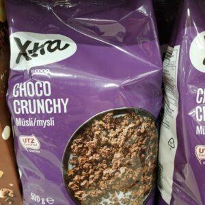 Шоколадные мюсли XTRA 500г