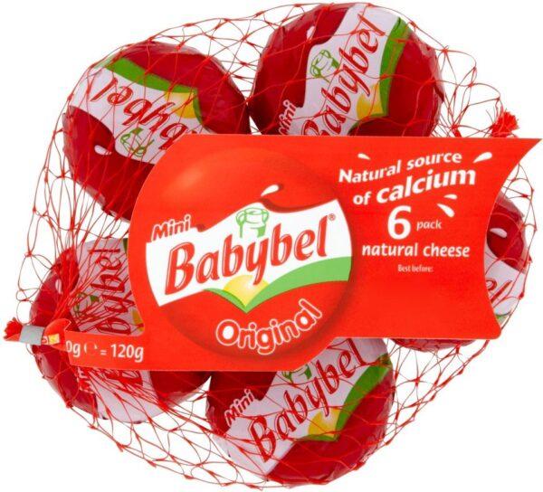 Мини сливочный сыр Бэбибель 9 шт