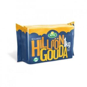 Сыр Arla Hillitön Gouda / Гауда кусок 1кг вакуум. пак.