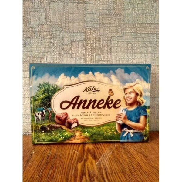 Шоколадные конфеты с молочной начинкой Anneke Kalev