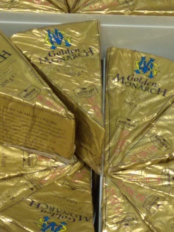 Сыр с голубой плесенью Golden Monarch 100 г ЭСТОНИЯ