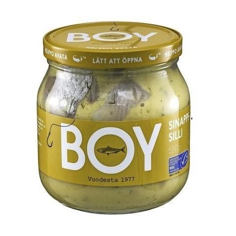 Селедка BOY Maustesilli (смесь специй) 580г