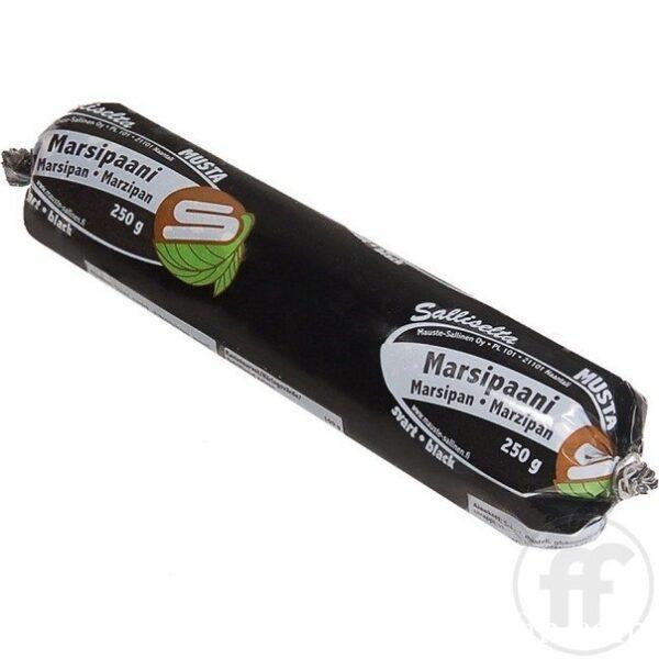 Черный марципан для кондитеров