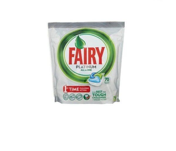 Таблетки для посудомоечной машины Fairy Platunum 70 шт