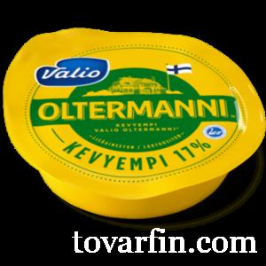 Сыр Valio Oltermanni / Валио Ольтермани 17% кусок 250г