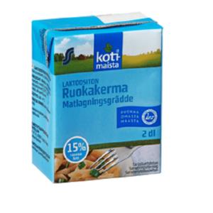 Сливки кулинарные 15% 200 мл без лактозы