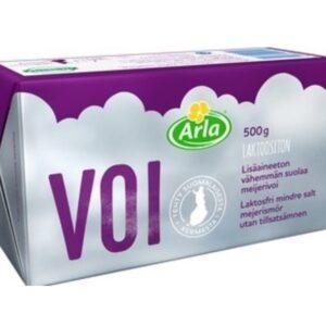 Arla Voi Laktoositon (Безлактозное масло сливочное слабой соли 80% ) 500гр