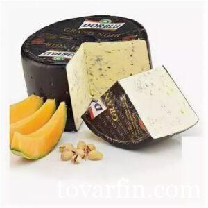 Сыр Dorblu Дор Блю Grand Noir с голубой плесенью 60%