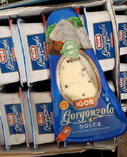 Сыр с плесенью Горгонзолла 100г