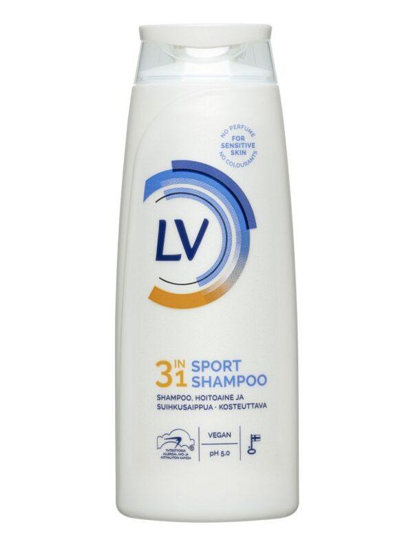 LV Шампунь/бальзам/гель для душа SPORT 3-в-1