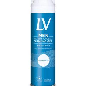 Гель для бритья LV MEN гипоаллергенный 200 мл