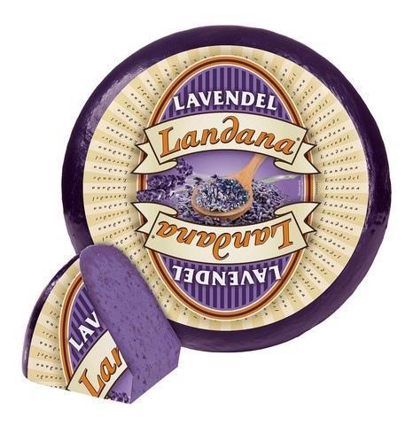Сыр Ландана Лаванда Landana  Lavandel Голландия