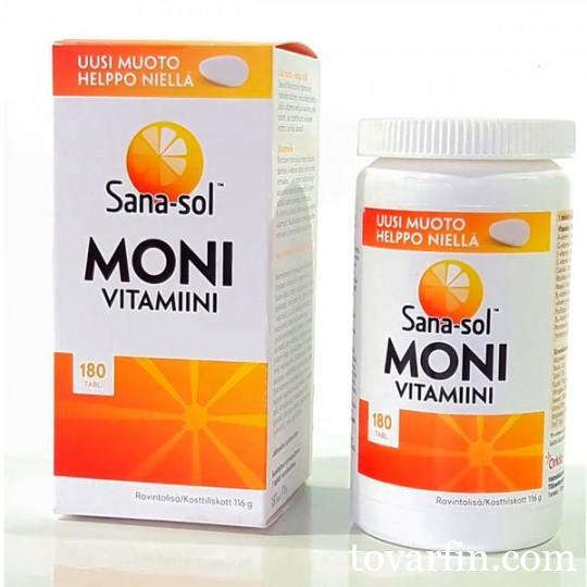Мультивитамины Sanasol Moni