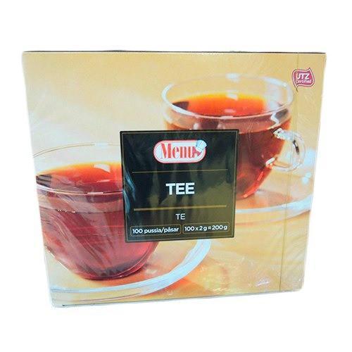 Чай черный Меню 100 пакетов