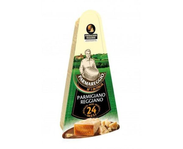 Сыр Parmareggio Parmigiano Reggiano твердый (Пармиджано Реджано) выдержка 24месяца 32%, 150г