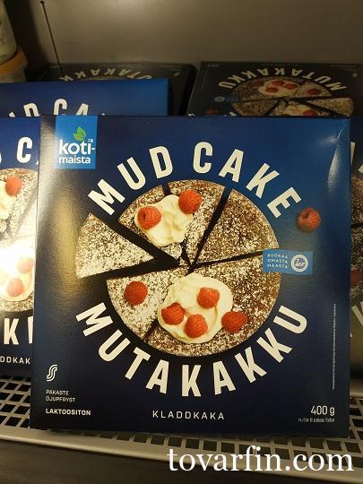 Kotimaista Торт Шоколадный Mud Cake 400г