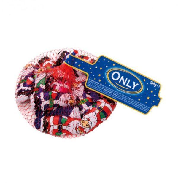 Деды Морозы в сетке Only Молочный Шоколад 100г