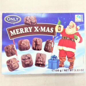 Молочный шоколад фигурный Merry Christmas 100г