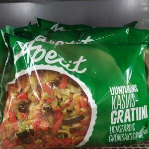 Гратен овощной Apetit 750г
