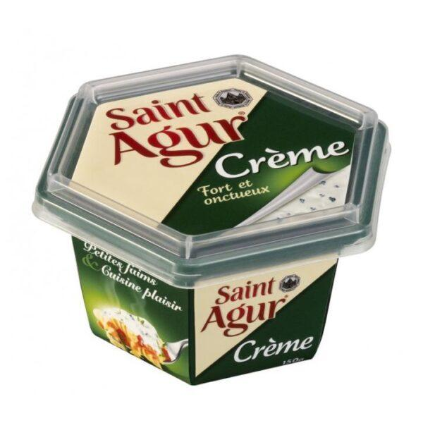 Сыр мягкий Сент Агюр Saint Agur Creme 150 гр