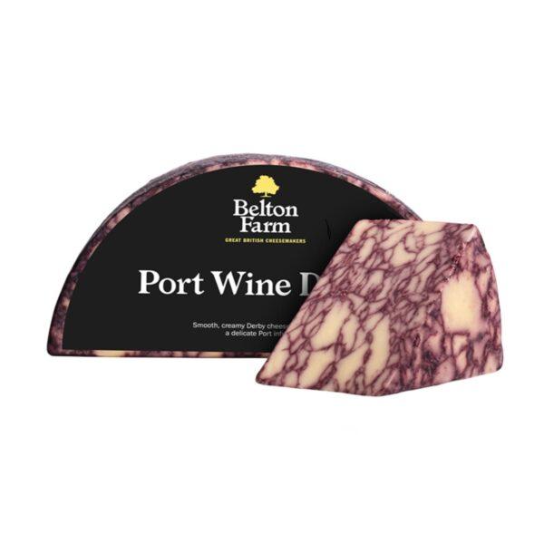 Сыр Дерби с портвейном (PORT WINE DERBY) Цена за 100г