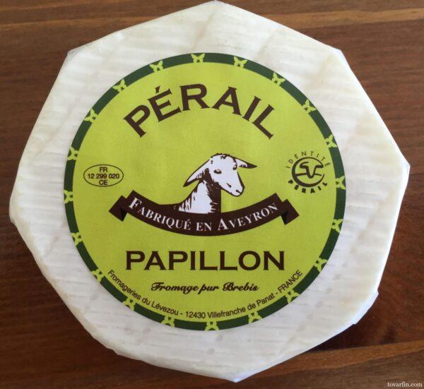 Мягкий французский сыр Perail Papillon 100г