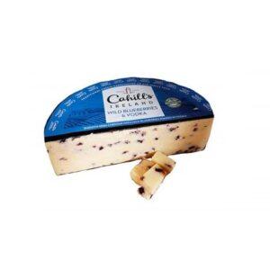 Сыр Чеддер, выдержанный в Водке с Черникой Cahhils Цена за 100г