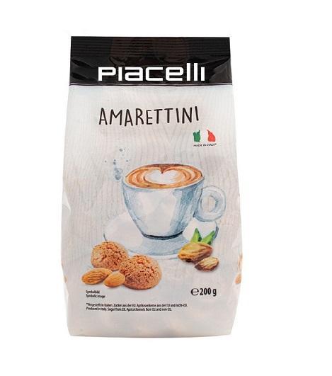 Миндальное печенье Piacelli AMARETTINI, 200 г
