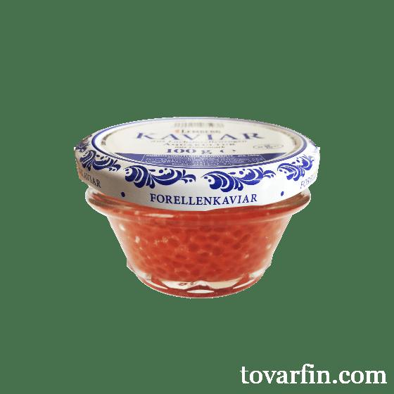 Икра красная форели Lemberg kaviar aus Lachsforellenrogen 100 г