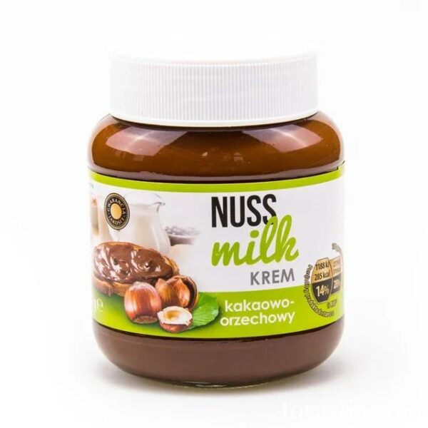 Купить Шоколадно - ореховая паста Nuss Milk 400гр. Польша