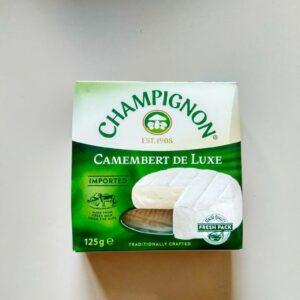 Камамбер Де Люкс Шампиньон Camembert De Luxe Champignon 125г