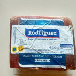Хамон Serrano Reserva Rodriguez кусковой 2,22 кг