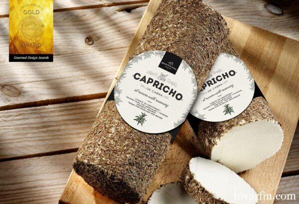 Сыр козий Montesinos Capricho de Cabra мягкий с травами 45% 145г Испания